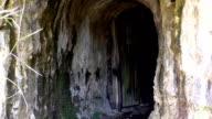 Open door of an old mine video