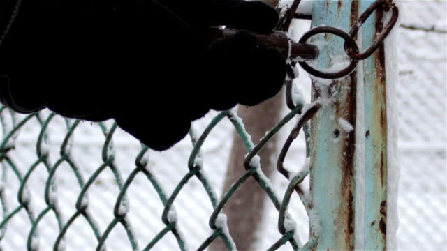 open padlock key video