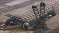 Open Pit Brown Coal Mine video