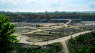 Open pit time lapse video