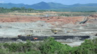 Open pit. video