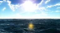 open sea slow motion video
