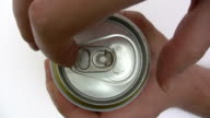Opening a Beer Can video