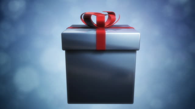 Opening a Present video