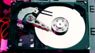 Opening hard disk drive video