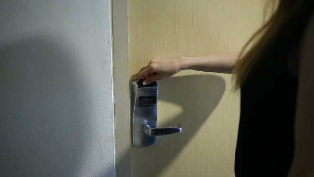 Opening Security Door with Access Card video