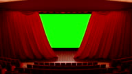 Opening theater curtains video