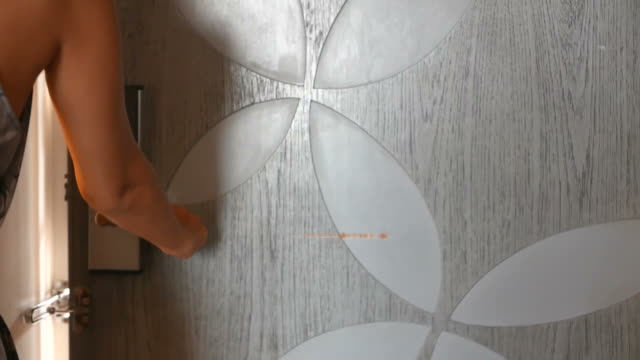 Openning door video