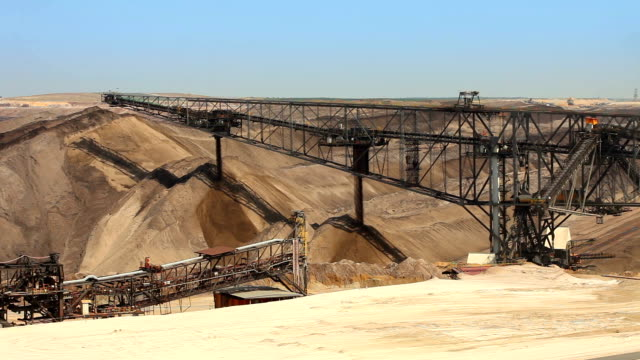 Open-pit mining video