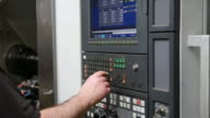 Operating CNC Machine video