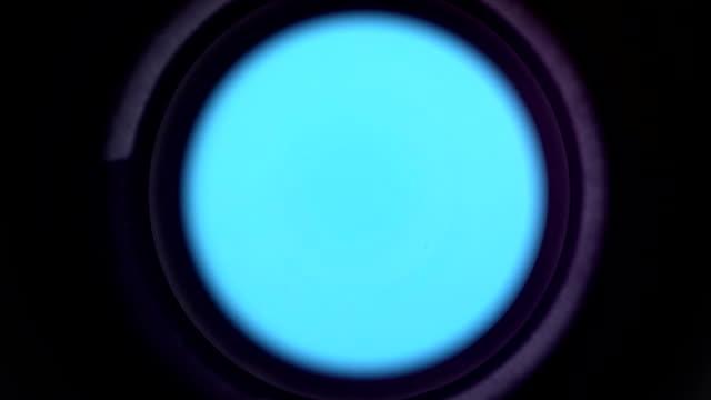 operating lens iris bluebox video