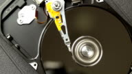 optical drive of a hard disk video