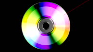 CD or DVD disk video