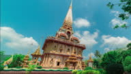 WAT CHAITHARAM or Wat Chalong Temple in Phuket Thailand video