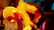 Orange Amusement Park Monkey video