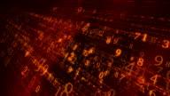 Orange digital space video