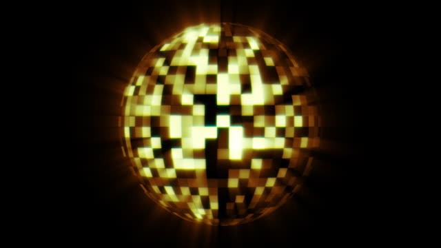 Orange Discoball video