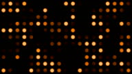 Orange Monotone Coloured Dots Background video