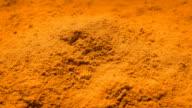 Orange Powder Rotating video