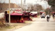 Orange roadside stall video
