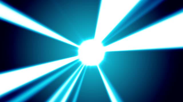 Orb Shinning Light Beams Background video