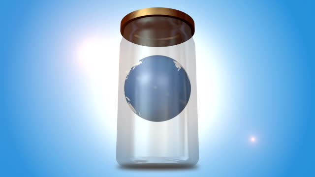 Orbiting Earth In The Glass Jar video