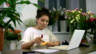 Ordering Flowers Online video
