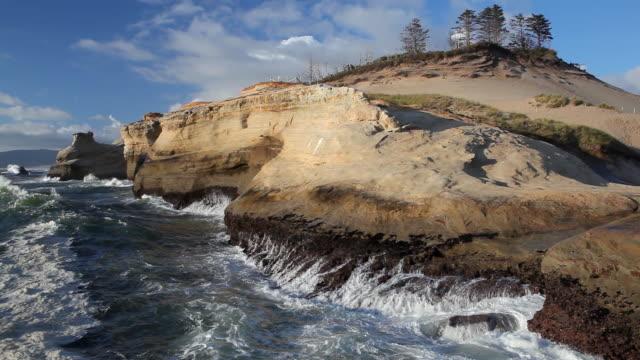 HD Oregon Coast landscape video