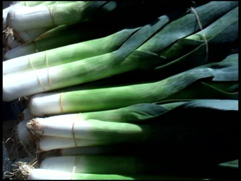 Organic Leeks video