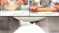 Organic Pasta Making montage video