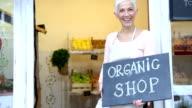 Organic Shop video