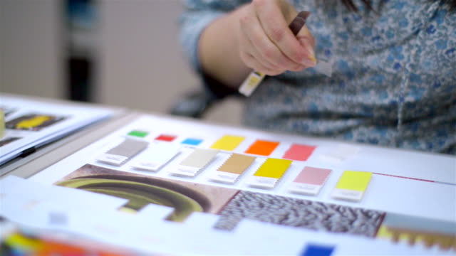 Organize color samples video