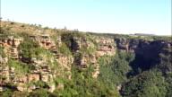 Oribi Gorge  - Aerial View - KwaZulu-Natal,  South Africa video