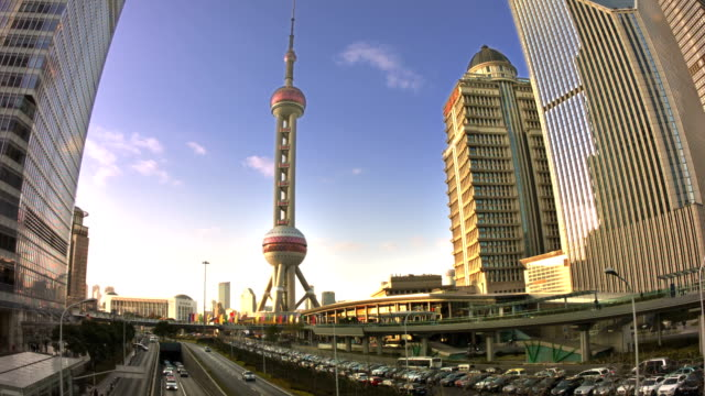 Oriental Pearl TV Tower video