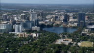 Orlando  - Aerial View - Florida,  Orange County,  United States video