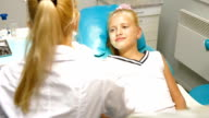 Orthodontist with Little Girl Patient video