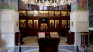 orthodox church aerial video