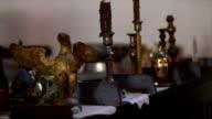 Orthodox church interior video