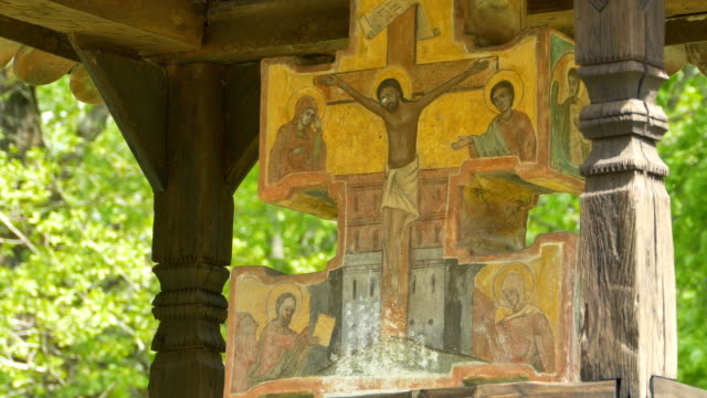 Orthodox Old Triptych video
