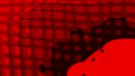 MORPHOGENETIC FLUX : orthogonal - red (LOOP) video