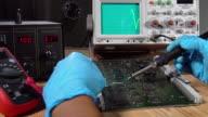 Oscilloscope video