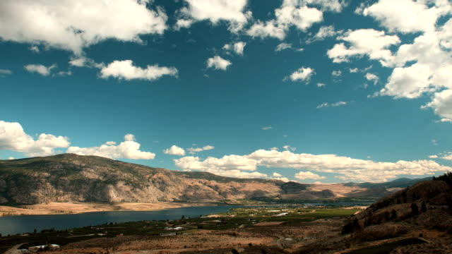 Osoyoos Valley and Lake Timelapse, British Columbia video