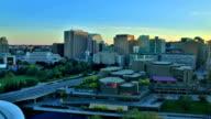 Ottawa, Canada sunset time lapse video
