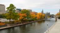 Ottawa Rideau Canal video
