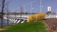 Ottawa River Bridge video