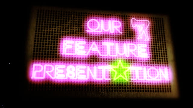 Our Feature Presentation (Drive-In Marquee) video