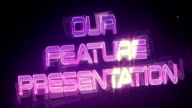 Our Feature Presentation (Retro Logo) video