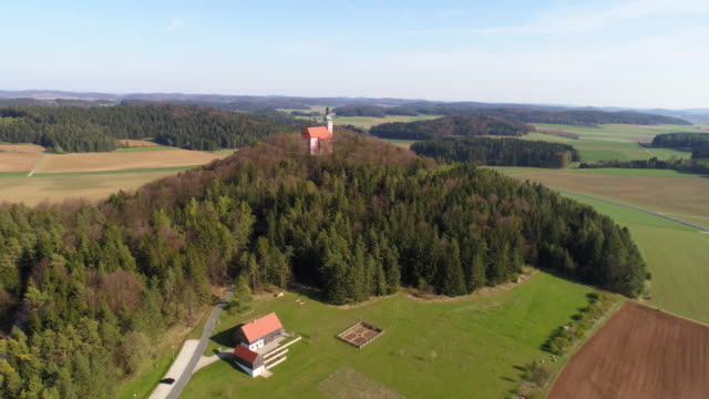Our Lady of Health Pilgrimage Church On Habsberg Hill In Bavaria video