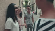 Out with friends in the city video