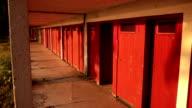 Outdoor locker room video